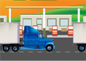 Big Rig Truck Stop Parking Games