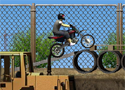Construction Yard Bike Game