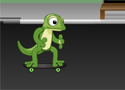 Gecko Skateboarding Game