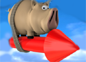 Pig on The Rocket Game