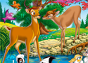 Hidden Numbers Bambi Game
