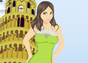 Pisa Girl Dressup Game