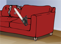 Sofa Bash Game