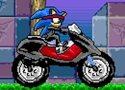Sonic Ninja Motobike Games