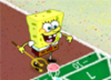 Spongebob Shuffleboard Game