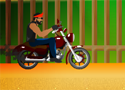 Stunt Biker Behind Game