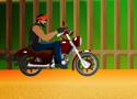 Stunt Biker Behind Game
